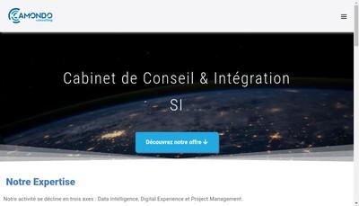 Site internet de Camondo Consulting