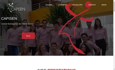 Site internet de Capisen
