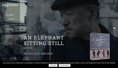 Site internet de Capricci Films