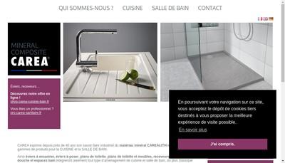 Site internet de Carea Sanitaire