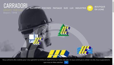 Site internet de Carradori Industrie