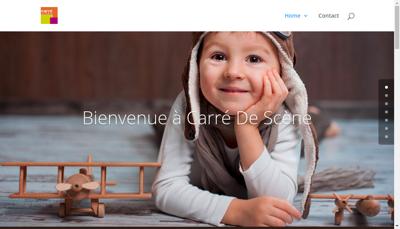 Capture d'écran du site de Papeterie du Val de Drome