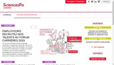 Site internet de Fondation Nationale Sciences Politiques