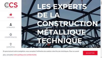 Site internet de Ccs International