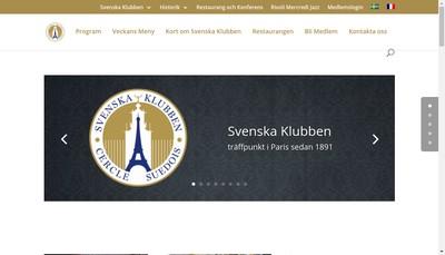 Site internet de Le Restaurant du Cercle Suedois