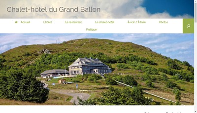 Site internet de Chalet-Hotel du Grand Ballon