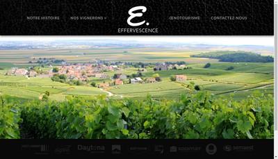 Site internet de Effervescence France
