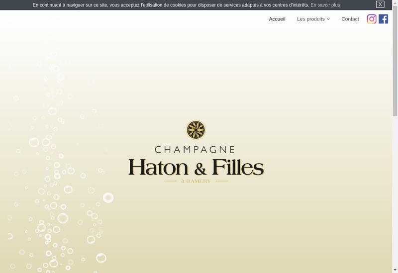 Site internet de SARL Haton & Filles