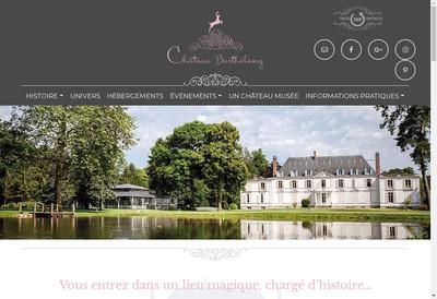 Site internet de SAS Chateau Barthelemy