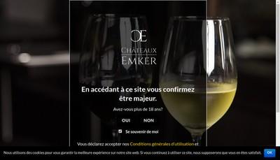 Site internet de Domaine Amaury
