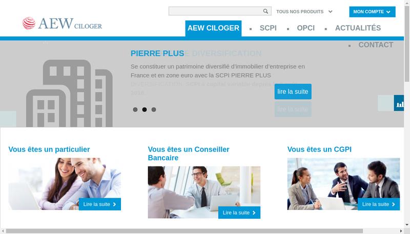 Capture d'écran du site de Parcolog