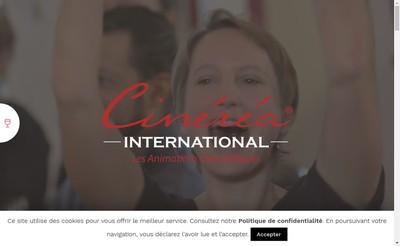 Site internet de Cinerea