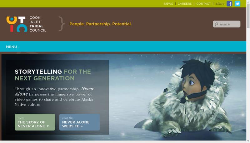 Capture d'écran du site de CITC