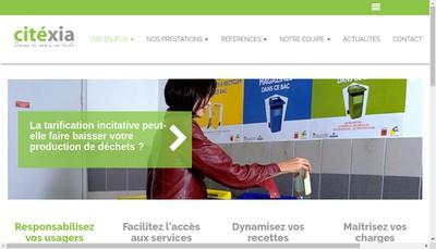 Site internet de Citexia