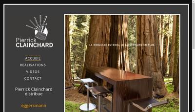 Site internet de Pierrick Clainchard