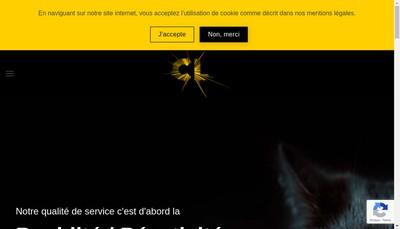 Site internet de Cognac Laser
