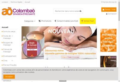 Site internet de SARL Colombao
