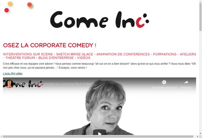 Site internet de Come Inc