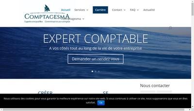 Site internet de Comptagesma Audit