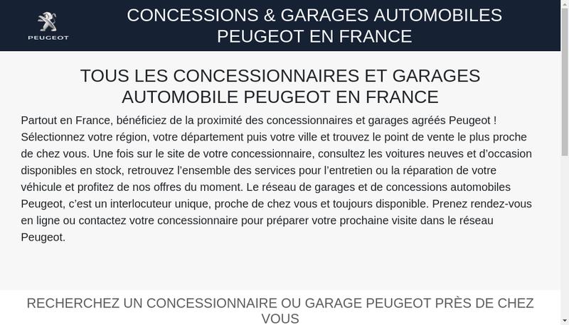 Capture d'écran du site de Chopard Automobiles