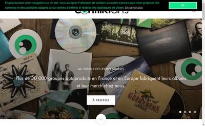 Site internet de Conflikt Arts