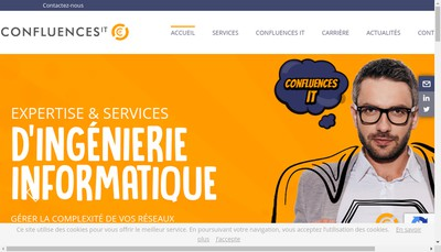 Site internet de Confluences It