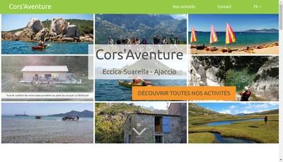 Site internet de Cors'Aventure