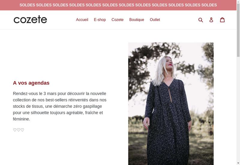 Capture d'écran du site de Bliss
