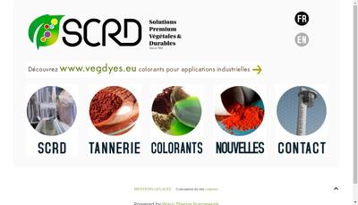 Site internet de Scrd