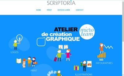 Site internet de Scriptoria