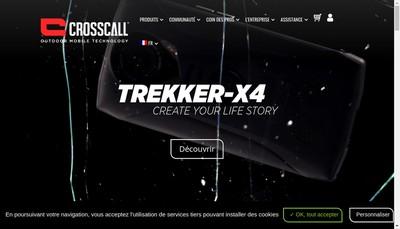 Site internet de Crosscall