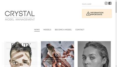 Capture d'écran du site de Slides Agence Parallele