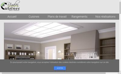 Site internet de Cuisines Regalon