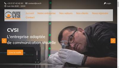Site internet de Cvsi-Ea