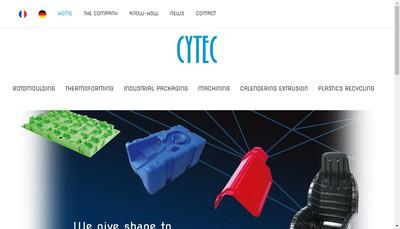 Site internet de Cytec