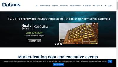 Site internet de Dataxis