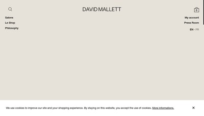 Site internet de David Mallett