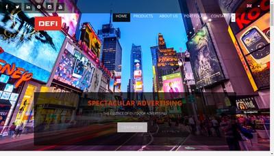 Site internet de Defi International