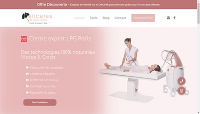 Site internet de Delicates Attentions