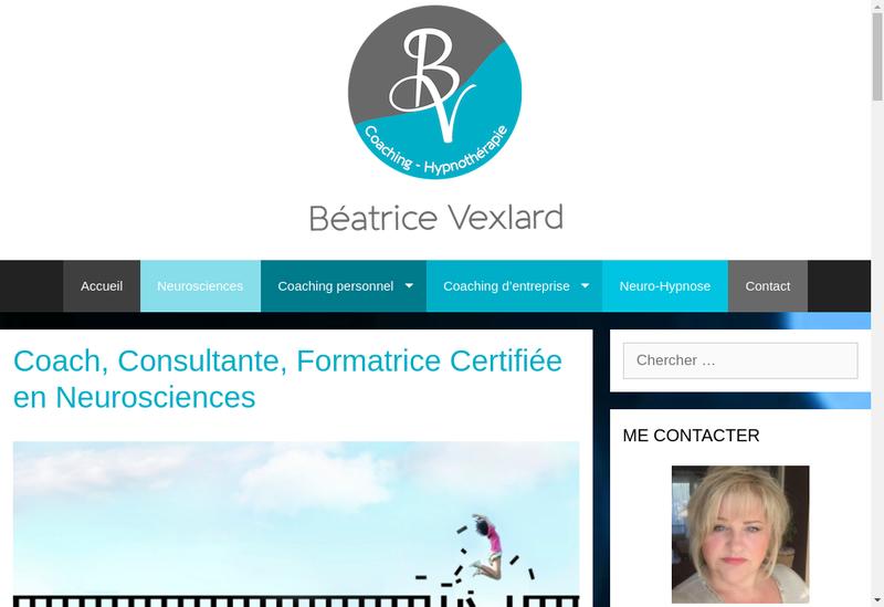 Capture d'écran du site de De Moi en Moi Coaching