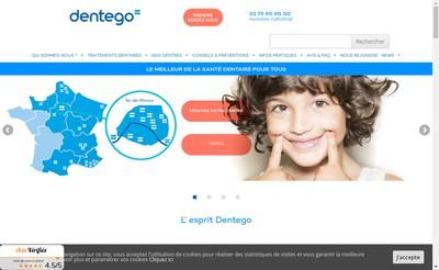 Site internet de Dentego Voltaire