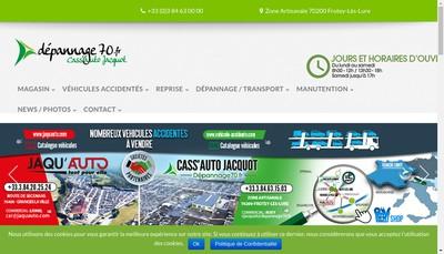 Site internet de Depannage 70