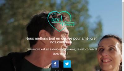 Site internet de Devinnova