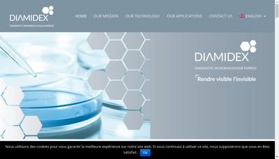 Site internet de Diamidex