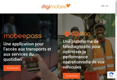 Site internet de Digimobee