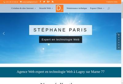 Site internet de Digital In