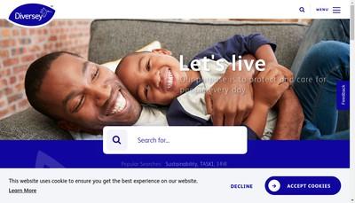 Site internet de Diversey (France) SAS