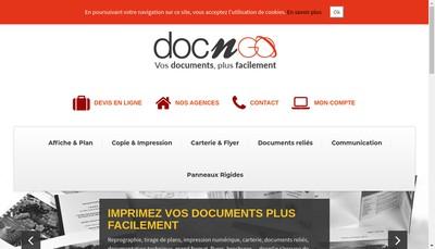 Site internet de Docngo
