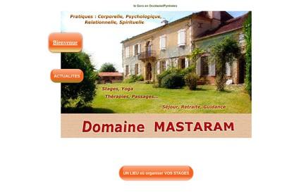 Site internet de Domaine Mastaram