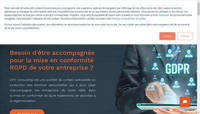 Site internet de Dpo Consulting